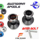6Color CNC Swingarm Spools 8MM 2pcs For Triumph DAYTONA 675 /R 11-16 12 13 14 15 $18.88 USD on eBay
