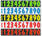 Car Dealer Windshield Stickers 11 Dzn Pricing Numbers You Pick Color 7 1/2 Inch