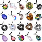 Women Elegant Crystal Pendant Necklace Sweater Chain Jewelry Gift Wedding Party