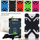 """Silicone Rubber Universal Case Cover Samsung Galaxy Tab A A6  8"""" 10.1"""" Tablet"""