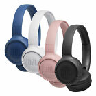 JBL T500 BT Over-Ear-Kopfhörer Bluetooth Kabellos Faltbar Pure Bass Headphones