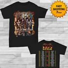 Kiss 2019 End of the Road World Tour concert T-shirt size Men Black shirt Gildan image