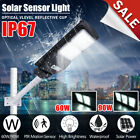 Внешний вид - 60/90W Solar LED Street Light Radar Induction PIRMotion Sensor Outdoor Wall Lamp