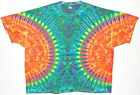 Adult TIE DYE Neon )( Blotter T Shirt art 5X 6X Grateful Dead hippie plus size