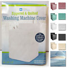 Внешний вид - 1 Vinyl Quilted Washing Machine Dryer Cover Top Load Dust Zippered Protection