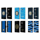 OFFICIAL INTER MILAN 2018/19 CREST LEATHER BOOK CASE FOR HTC PHONES 1