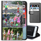 Personalised PU Leather Phone Case, Custom Photo Cover For Alcatel Asus Lg Nokia