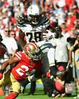 Melvin Gordon Los Angeles Chargers 2018 NFL Action Photo VR059 (Select Size) $13.99 USD on eBay