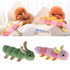 Pet Dog Cat Caterpillar Shaped Sound Toy Best Pet Squeaky Toys Chewing Toy