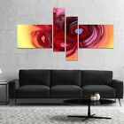 Designart 'Waves Around the Hearts' Abstract Canvas Art Print