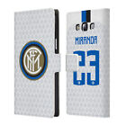 INTER MILAN 2018/19 PLAYERS AWAY KIT 2 LEATHER BOOK CASE FOR SAMSUNG PHONES 3