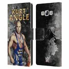 OFFICIAL WWE KURT ANGLE LEATHER BOOK WALLET CASE FOR SAMSUNG PHONES 3