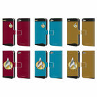 STAR TREK UNIFORMS AND BADGES TNG LEATHER BOOK WALLET CASE FOR APPLE iPOD TOUCH on eBay