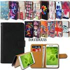 Leather Smart Stand Wallet Case Cover For Huawei Ascend Y Series SmartPhones