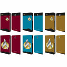 OFFICIAL STAR TREK UNIFORMS AND BADGES TNG LEATHER BOOK CASE FOR SAMSUNG TABLETS on eBay