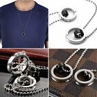 Fashion Agentx Mens Pendant Stainless Steel Chain Stylish Necklace