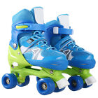 Kids Inline Skates Adjustable Roller Blades Shoes Sport Skate for Boy Girl S/M/L