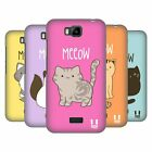 HEAD CASE DESIGNS KITTY CATS HARD BACK CASE FOR HUAWEI PHONES 2
