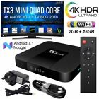 X96 mini X96-W TX3 mini Smart TV Box Android 7.1 4K 2GB+16GB Quad Core WiFi IPTV