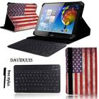 "LEATHER STAND COVER CASE + Bluetooth Keyboard For Various 10"" Acer Iconia Tab"
