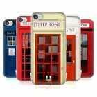 HEAD CASE DESIGNS TELEPHONE BOX SOFT GEL CASE FOR APPLE iPOD TOUCH MP3