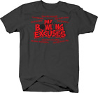 My Bowling Excuses Funny Oily Lane Pin Strike Turkey League T shirt for men