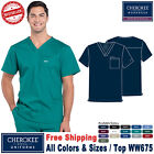 Kyпить Cherokee Scrubs PROFESSIONAL Men's Medical Uniform V-Neck Top WW675 на еВаy.соm