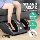 Livemor Foot Massager Shiatsu Electric Ankle Massagers Kneading Rolling Machine