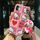 Kawaii Jingle Cat Hello Kity Soft Silicone Case Cover For Phone Xs Max 6 6s 7 8