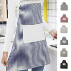 Unisex Home Kitchen Cooking Baking Apron with Big Storage Pocket