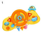 Electric Simulation Light Music Driving Steering Wheel Educational Toys for Kids