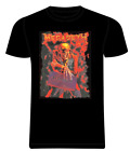 MEGADETH Metal Rock Band Men's T shirt Black Purple FOR SALE S-2xl Tee Rock band
