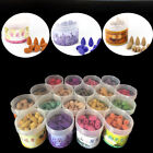 New Smoke Tower Cone Bullet Backflow Incense Hollow Cones Home Fragrance Natural