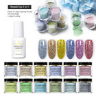 BORN PRETTY Holographic Dipping Acrylic Powder Without Lamp Cure Nail Decoration