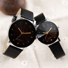 Fashion Women Men Casual Watch Leather Band Couple Analog Quartz Wrist Watches image
