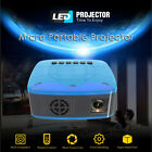 U20 Mini Projector 1920 1080 LCD LED Portable HD Home Theater No Blue Ray B4P0