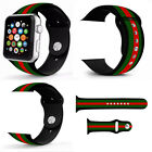 Sport Silicone Wrist Bracelet Band Strap For Apple Watch Series 4 3 2 1 38/44mm image