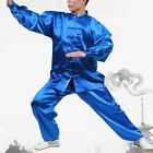 Martial Unisex Arts Uniform Kung Fu Suit Costume Tai Chi Performance Clothes Hot