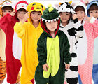 2018 Kid Pajamas Kigurumi Unisex Halloween Cosplay Animal Costume Sleepwear