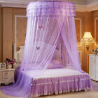Round Dome Mesh Lace Mosquito Net Bed Canopy Bedding Netting Princess image