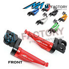 Front Racing Extended Foot Pegs Fit Triumph Daytona 675 /R Bonneville T100/T120 $38.8 USD on eBay