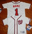 Washington Nationals MLB Toddler Majestic Replica Jersey add any name