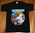 Vtg T-Shirt The Cars Tour Black Gildan Reprint Standart USA Size S-2XL image