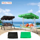 Durable Outdoor Garden Swing Chair Replacement Canopy Spare Cover 195x125cm Uk