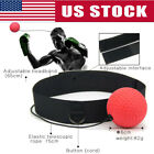 1/2x Boxing Training Fight Ball Mma Reflex Speed Reaction Punch Combat Trainer