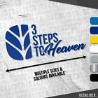 New Holland 3 Steps to Heaven Sticker / Decal - Multiple Colours & Sizes Tractor