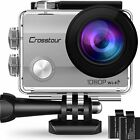 Crosstour Action Camera Underwater Cam WiFi 1080P Full HD 12MP Waterproof 30m