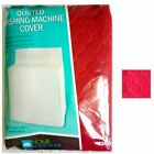 "1 Washing Machine Cover Quilted Fabric Dust Free Appliance Colors 30""x 26""x 41"" photo"