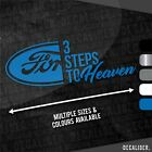 Ford Badge 3 Steps to Heaven Sticker / Decal - Multiple Colours & Sizes Tractor