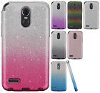 For LG Stylo 3 SHINE HYBRID HARD Protector Case Rubber Phone Cover +Screen Guard $8.95 USD on eBay
